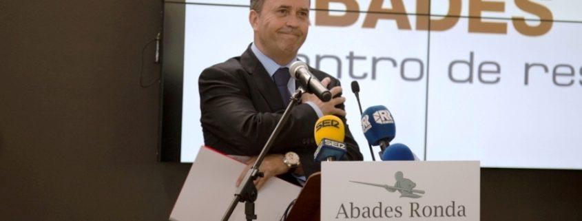 Julián Martín en discurso inaugural