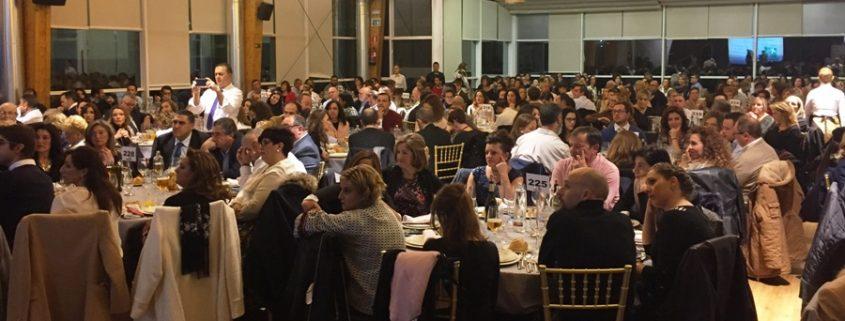 Banquete realizado a favor de Ayuca en Ronda