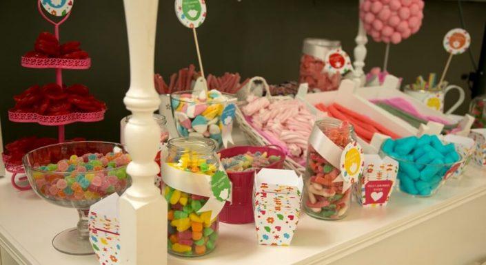 Golosinas y dulces para boda en Ronda
