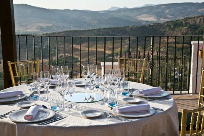 Banquete para celebración de bodas