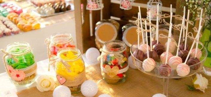 Golosinas y dulces para bodas