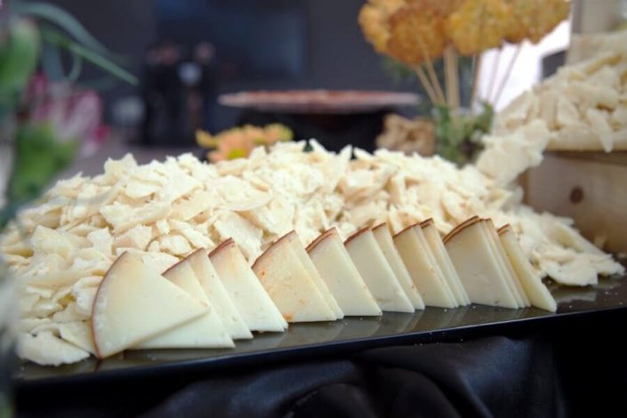Selección de quesos para reuniones