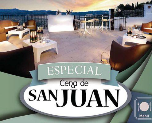 Folleto Noche de San Juan en Abades Ronda