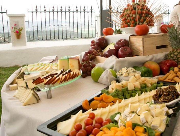 Selección de quesos para eventos