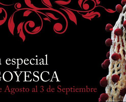 Banner promocional de la Goyesca en Ronda
