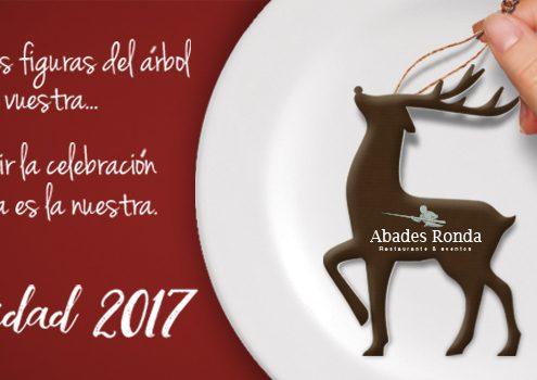 Banner para cenas de navidad en Ronda