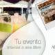 Terrazas y salones para eventos en interior o al aire libre