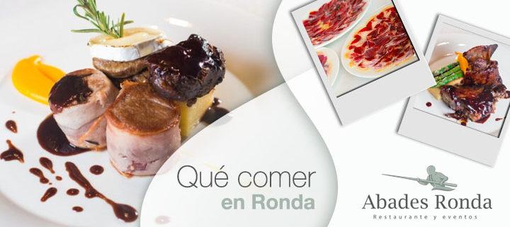 Platos típicos rondeños para comer en tu visita a Ronda