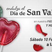 Banner promocional San Valentín 2018 en Abades Ronda
