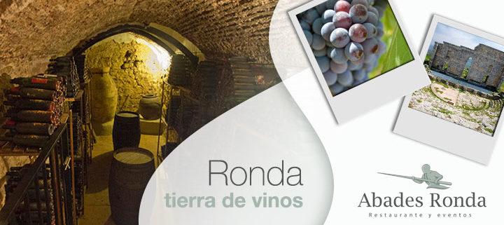 Bodega rondeña, uvas y vinos de Ronda