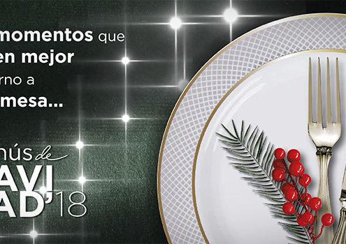 Banner promocional de celebración de Navidad en Ronda
