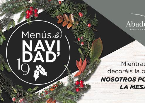 Banner oferta para cenas de navidad en Ronda