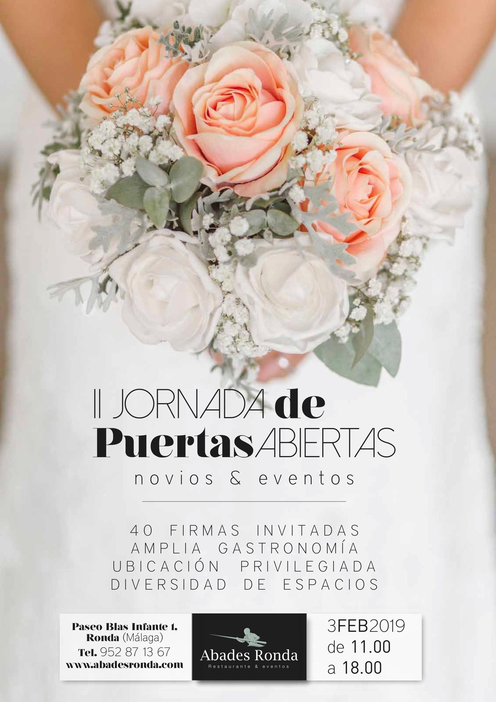 Jornadas Puertas Abiertas bodas y eventos Abades ronda2