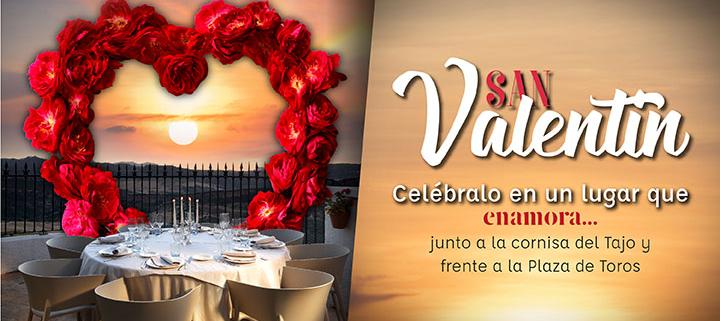 Menú de San Valentín en Ronda